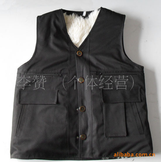 Within 3-6 months of 2015 winter lambs wool outer fabric fur vest leather guarantee(China (Mainland))