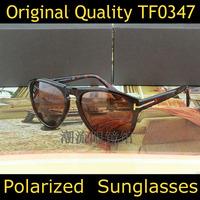 Brand Designer Fashion Polarized Toms Sunglasses Women Tom Sunglasses TF0343 Retro Men Sun Eye Glasses Oculos Do Sol Original