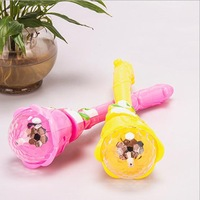 Free Shipping~ 2pcs/lot Electric projection magic wand Flashing all over the sky star flashing/gift for children