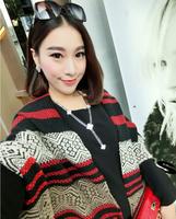 2014 New Hot Fashion Super Long Scarves Winter Warm Bohemian Ethnic Shawl  Woman Scarf