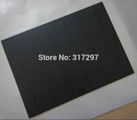10W 18V monocrystalline solar panel pet laminated light weight charging 12V battery DIY use for home/ lighting /camping