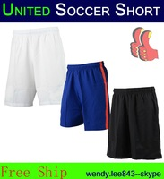 Top Thailand United CHAMPIONS LEAGUE 3rd Blue  14 15 Soccer Jerseys 2014 Rooney Persie Falcao Di Maria Kit Shirt Futbol Short