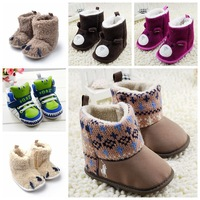 Baby Prewalker Shoes Infant Toddler Flats Baby Girl Mary Jane Christening Walking Baby boot