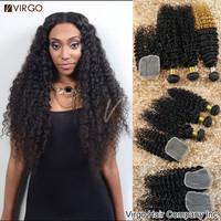 Malaysian Virgin Hair 3 Bundles With Closure Curly Lace Closure With Human Hair Weave Bundles Malaysian Curly Hair Virgo Hair