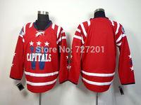 2014 Washington Hockey Jersey Blank Jersey Cheap Ice Hockey Jersey Stitched Jerseys Free Shipping