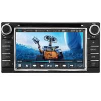 Capactive Touch Screen Car DVD GPS TOYOTA RAV4 COROLLA HILUX Land Cruiser Prado Fortuner Camry Previa Sat Head Unit Navi Radio