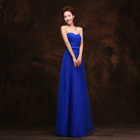 2015 Sexy Long Royal Blue Red Burgundy High Waist Prom Dress To Party Bridesmaid Dresses Maid of Honor Dress