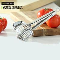 Metier Atelier tomato clip18/10 stainless steel slicer orange clip kitchen tools