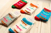 Cute cartoon dachshund dog socks woman Breathable cotton socks 10pairs/lot free shipping