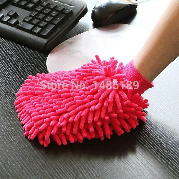 Super Mitt Microfiber Car Wash Washing Cleaning Gloves Car Washe Car Window Cleaner Wholesale(China (Mainland))