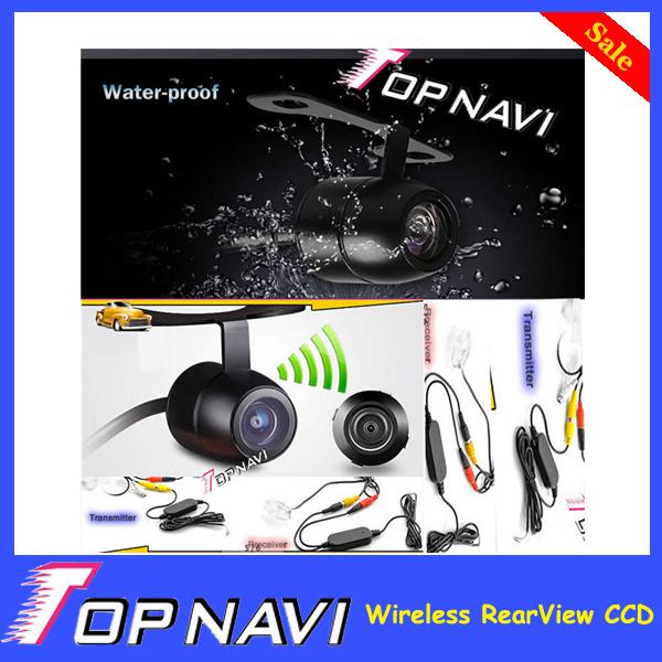 Wireless RearView CCD Car Backup Camera Reversing Camara Waterproof Night Vision(China (Mainland))