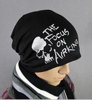 Min. order 9usd (can mix) Devil skull cap turban casual hip-hop hat