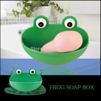 Cartoon Creative plastic sucker sucker soap dish soap dish soap holder sucker suction wall soap box