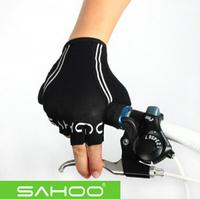 SAHOO cycling gloves half finger GEL Racing Bicycle Gloves off road Sport GEL MTB mountain Bike guantes luvas para de ciclismo