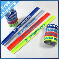 Free Shipping Bike Bicycle Cycling Riding Safety Reflective Belt Pant Leg Arm Strap 2pcs/lot