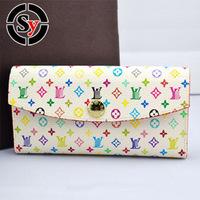 Fashion Large Zip walletNew Large Zip wallet  business casual wallet Portemonnaie portefeuille