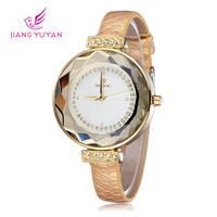 2014 Watch Fashion Casual Women Luxury Watch Big Dial Wristwatch Relogios Femininos Quartz Wrist Watch