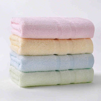 New 2014 Brand Towels Promotion--4PC/Lot Bamboo Fiber Baby Towel Kids Face Bibs Cloth Hand Towel Children Bath Towel 090035