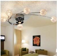 best-selling aluminium/stainless steel/glass chandelier 6 lights new aluminum ball pop aluminum ball lighting
