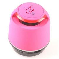 Portable Bluetooth Speaker , Wireless Stereo Subwoofer , Enhanced Bass, Handsfree Speakerphone-Pink