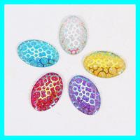 Oval Resin Rhinestone,Sewing Stone 30*20mm 100pcs/lot Accept Mix Color DIY Rhinestone Gemstone Cabochon