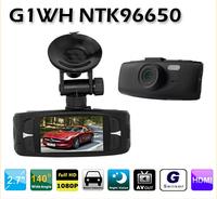 """New G1WH 2.7"""" 5.0MP COMS Car DVR 1080P Novatek+Glass lens 1920*1080+HD + Wide Angle 140 Degrees+car camera"""