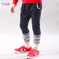 Free shipping Casual Pants for Boy Fashion Cool Regualr Pants Weave Pants 30085 Elastic Pocket Design Brown/ Dark Gray Pants