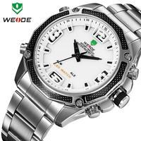 Quartz Wristwatch men sports watches 2014 WEIDE Brand New military watch Fashion Men  Men's Army Wristwatch 12-month Guarantee
