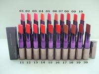 1Pcs New 20 colors Waterproof lipstick lip gloss Makeup lipgloss velvet matte lip stick red color vitality cerise star