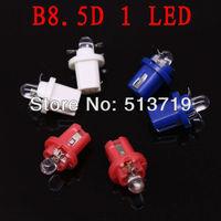10X  B8.5D T5 2721 286 INTERIOR DOME LIGHT BULB/LAMP/BULBS SMD Twist Lock xenon white red blue DC 12V