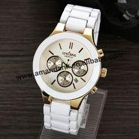 50pcs/lot New Style 2015 Men's Geneva Alloy Wristwatch Hot Sale Quartz Watch Unisex Fashion Women  Alloy Casual  Dress Watches