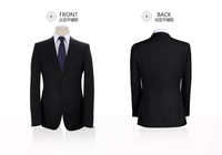 Autumn and winter 2014 men's suits Slim England men's business casual suit  - pants + jacket free shipping