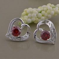 3 colors! new women earings 2015 stud earings fashion jewelry, stud earrings for women hip hop free shipping  AE799