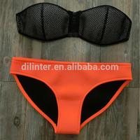 Classic designs high-grade  swimwear   Neoprene Bikini Superfly Swimsuit Bottoms Neoprene bikini set   3017