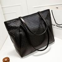 2014 fashion fashionable casual knitted women's vintage shoulder bag handbag big bags trend women's handbag