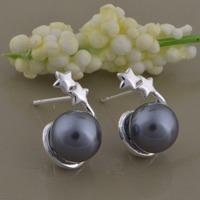 3 colors! new women earings 2015 stud earings fashion jewelry, stud earrings for women hip hop free shipping  AE801