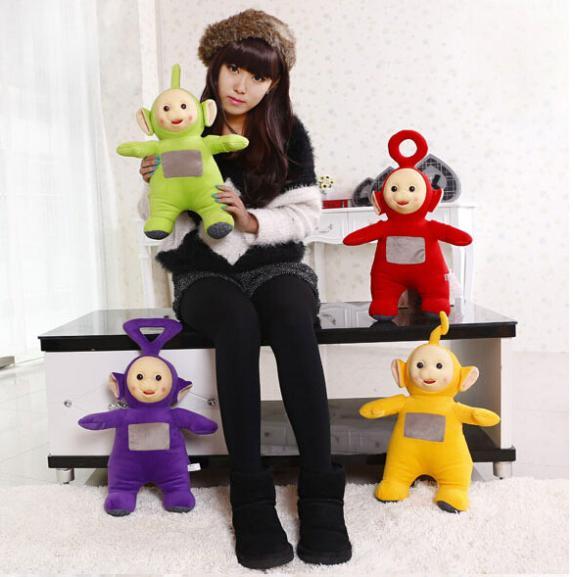 25CM Free Shipping Stuffed Dolls Teletubbies Vivid Dolls High Quality Hot Selling Plush Toys BT087(China (Mainland))