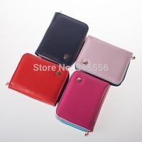 Women Change Purse Korean Mini Fashion PU Leather Zipper Female Wallets Coin Purses Free Shipping TB1014