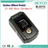 Joyo JT-305 Guitar Bass Chromatic Pedal Tuner, True Bypass, 4 Display Modes