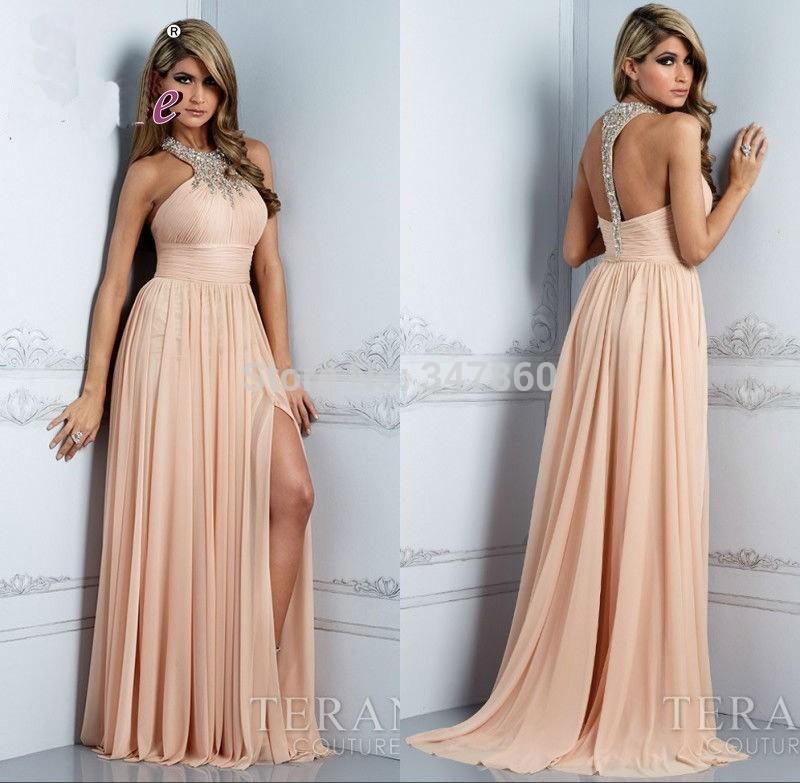 G11306 americano europeu rendas favorito vestidos de noite frisado Chiffon moda Halter atraente nupcial vestidos vestidos de festa(China (Mainland))