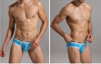 Briefs U convex soft cotton low waist underwear briefs cotton shorts male head