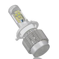 1set 3600LM U.S. 30w cree H4 led headlight lamp Hi/Lo car auto led bulbs with heatsink