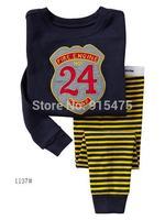 "2015 New Arrival Design  ""24 "" Pajamas 100% Cotton Baby Pijamas Kids sleepwear clothing Boys Pyjamas Children's wear 6set/lot"