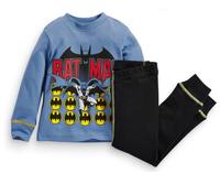 2015 New Arrival Batman Pajamas 100% Cotton Baby Pijamas Kids sleepwear clothing Boys Pyjamas Children's wear 6set/lot