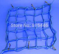 Motorcycle 6 Hooks Fuel Tank Luggage Hold down Net Mesh Web Bungee Helmet Tailstock Net Motorbike Rack Cargo Cord
