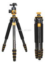 Koolehaoda Professional 64-inch Carbon Fiber Ball Head Camera Video Photo Tripod Photography Studio Tripod