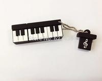 Free shipping 4GB 8GB 16GB 32GB christmas gift  pen drive piano usb 2.0 flash drive flash memory stick