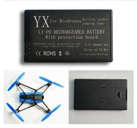 Brand New 1Pcs Black 3.7v 600mAh Lipo Battery for Parrot MiniDrones Jumping Sumo & Rolling Spider Free Shipping