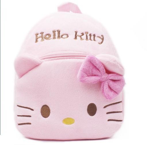 2014 nova top qualtiy bebê olá KT gato escola bags crianças character design mochila meninas encantadoras KT sacos de brinquedo I083(China (Mainland))