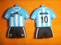 Free shipping 4GB 8GB 16GB 32GB Argentina Messi  football team usb 2.0 usb  flash drive memory stick pen